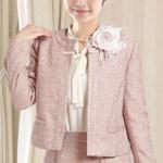 入学式 母親 スーツ ピンク