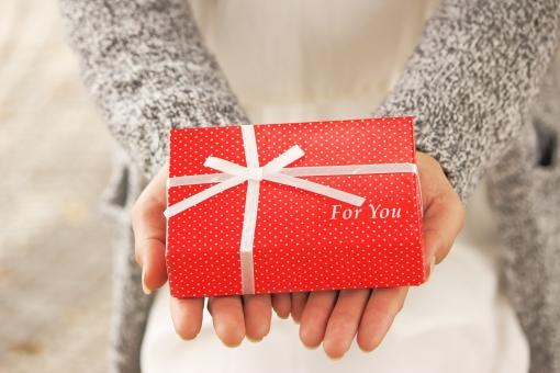 女性からのプレゼント foryou