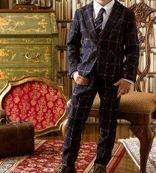 男の子 スーツ 英国風