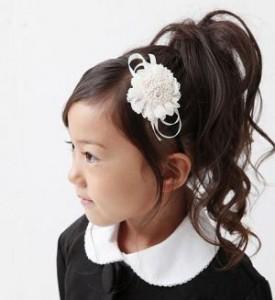 女の子 髪型 ヘアアクセ