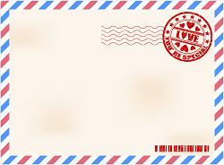 エアメール 封筒