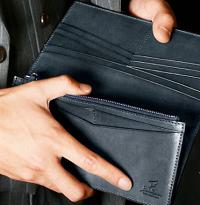 大学男子 財布