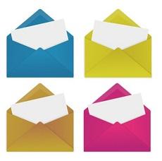 封筒 カラー