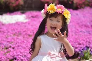 芝桜 女の子