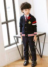 男の子 スーツ カーディガン