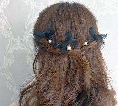 女の子 髪飾り