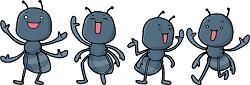 蟻 イラスト