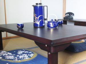 旅館 和室 お茶セット