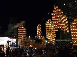 秋田竿燈まつり 一大イベント
