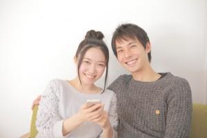夫婦 笑顔