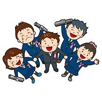 中学生 卒業