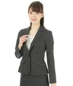 女性 スーツ ベーシックデザイン