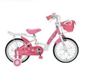 女の子用の可愛い自転車