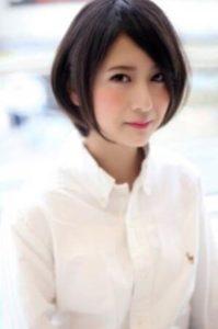 女性 髪型 ひし形ショート