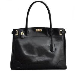 濱野皮革工藝 黒のバッグ