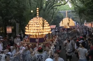 熱田祭り 巻きわら神輿