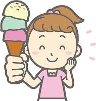 アイス ゆっくり食べる