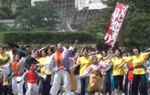 姫路お城まつり 市民パレード