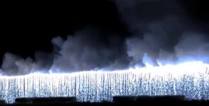 小山の花火 ナイアガラ