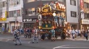 熊谷うちわ祭 屋台