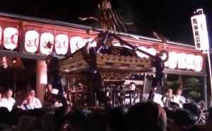 熊谷うちわ祭 還御祭