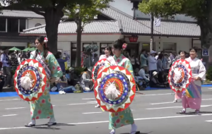 姫路お城まつり パレード しゃんしゃん