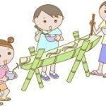 竹の流しそうめんを自宅で味わう!簡単な作り方と代用できる物。