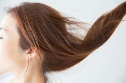 髪の毛 茶色