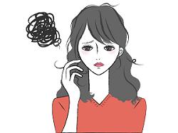 20代 女性 抜け毛