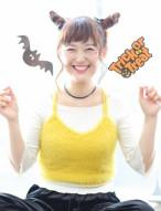 ツノ風 アレンジ 髪型