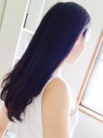 紫外線対策 長い髪