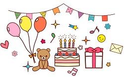 友達 誕生日