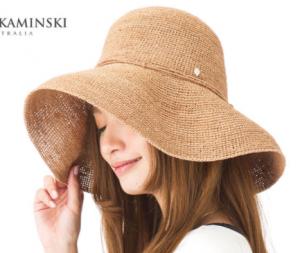 麦わら帽子 ヘレンカミンスキー ブランド