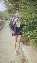 羽織 甚平 女性