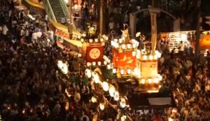 熊谷うちわ祭 夜