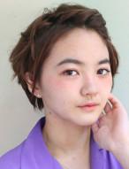 前髪アレンジ ショートヘア 女性