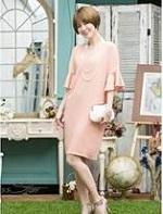 ピンク ドレス