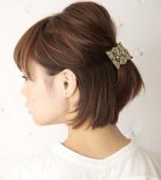 ショート 女性 髪型 トップボリューミー