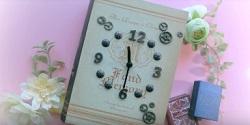 置き時計 手作り