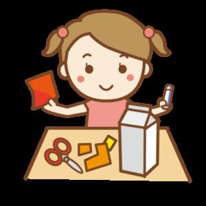 小学生 女の子 工作 イラスト