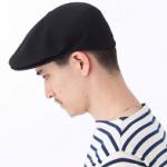 ハンチング帽 メンズコーデ