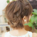 体育祭(運動会)おすすめ髪型【女子高校生】ボブ・ショート。