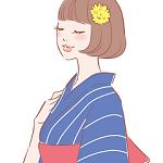 浴衣髪型ボブ!簡単アレンジとやり方【編み込み・三つ編み・アップ】