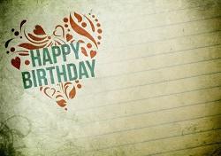 誕生日 メッセージ