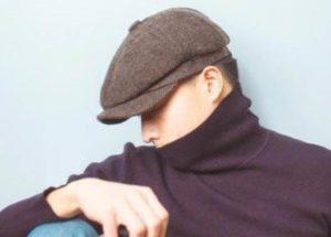 ハンチング帽 メンズ