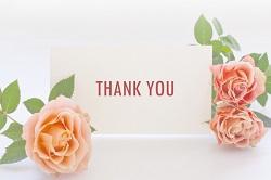 メッセージカード THANK YOU