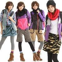 女性 登山 服装