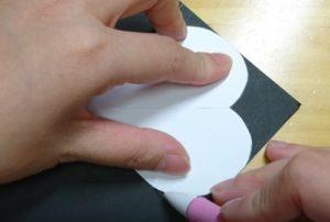 ハート型 画用紙