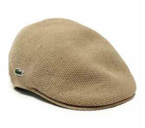 ハンチング帽 ラコステ
