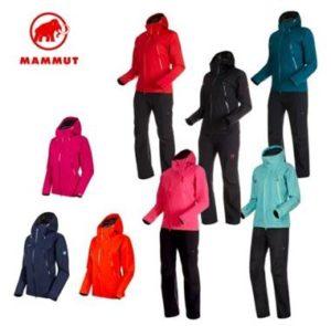 マムート 登山ウェア